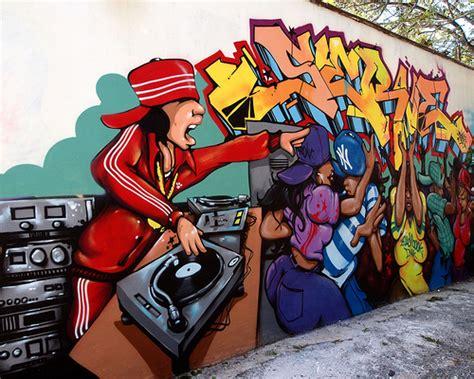 Baseball Murals For Walls dj dance graffiti mural soundview bronx new york city