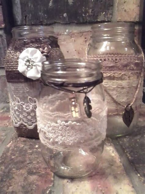 25 best ideas about decorated jars on pinterest tea party centerpieces baby shower table