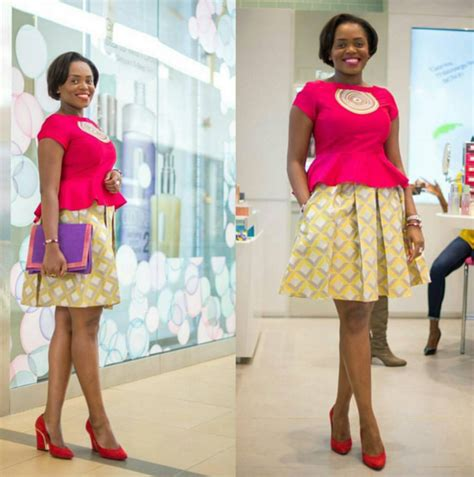 how to nail ankara office dress daily lovely ankara styles you can wear to the office