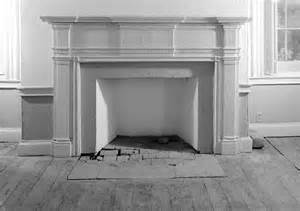stucco fireplace surround rockland mansion 1810 historic details