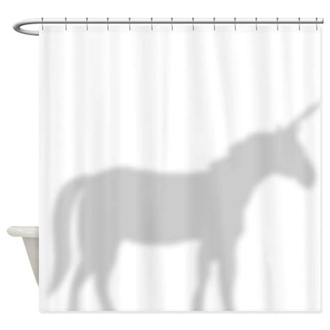 curtain silhouette unicorn silhouette shower curtain shower curtain by