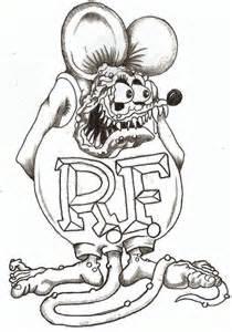Pin Rat Fink Hot Rod Cartoon On Pinterest sketch template