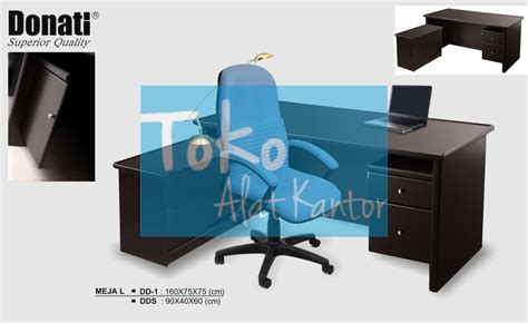 Meja Kantor Donati meja l donati type dd 1 melamic series distributor