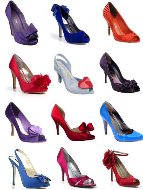Aksesoris Sepatu Murah Fuschia Shoe Clip 1 coloured shoes polka dot