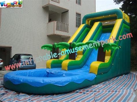 backyard blow up water slides commercial grade 0 55mm pvc tarpaulin coco outdoor inflatable water slides