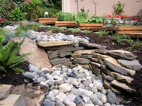 10 Best Front Yard Images On Pinterest Garden Layouts Rocks In Garden Beds