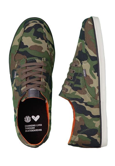 camouflage shoes element topaz camoflague shoes impericon worldwide
