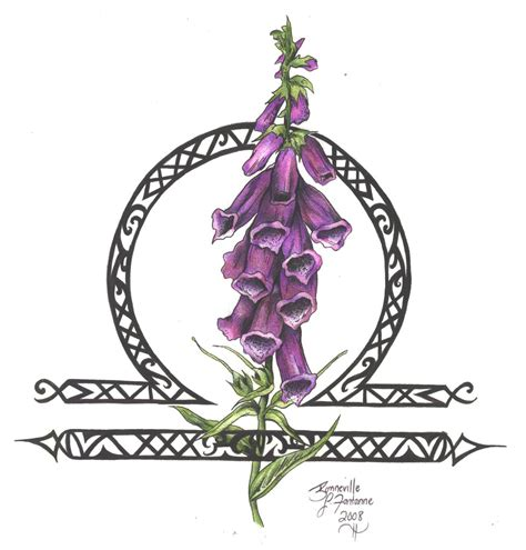 zodiac flower design libra by d angeline on deviantart