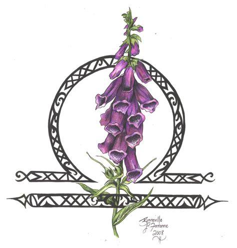 zodiac flower design libra by d angeline on deviantart