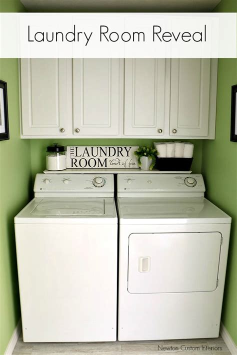laundry room reveal newton custom interiors
