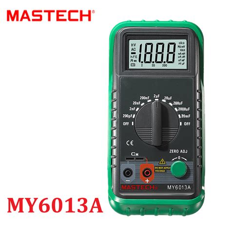 capacitor test with digital multimeter mini multimeter multimetro holdpeak hp 36d lcd digital capacitance meter capacitor tester pf mf