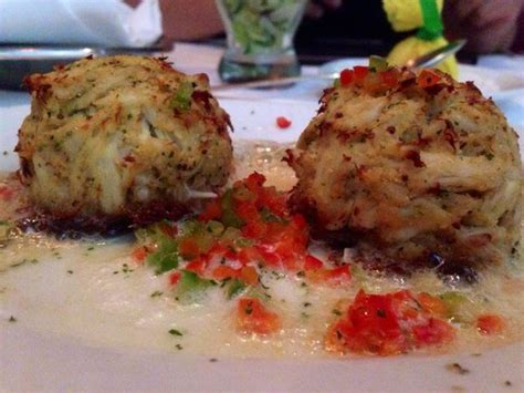chris s crab house sizzling blue crab cakes picture of ruth s chris steak house sacramento tripadvisor