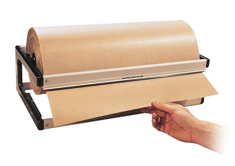 Craft Paper Dispenser - counter roll holders kilby packaging