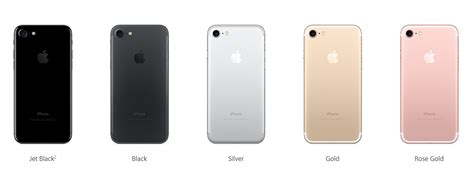 iphone 7 colors iphone 7 model numbers