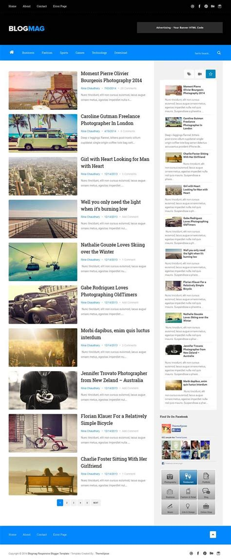 blogger template responsive 50 free responsive personal blog blogger templates