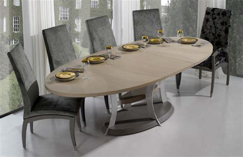 Contemporary Oval Dining Table Contemporary Dining Tables Oval Advice For Your Home Decoration