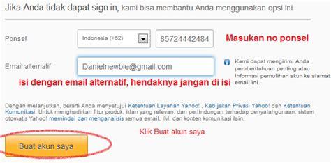 alamat untuk membuat email yahoo cara membuat email yahoo terbaru 2013 bergambar info