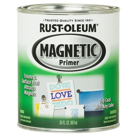 rust oleum specialty 30 oz magnetic primer kit 247596 the home depot