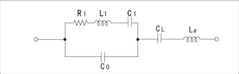 equivalent circuit inductor capacitor about oscillation circuit with quartz technical information other information