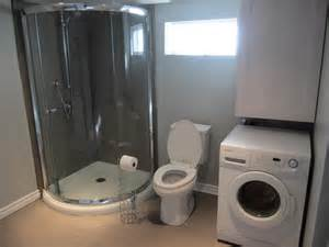 Basement Bathroom Laundry Room Combo new basement laundry room bathroom reno reveal the elm