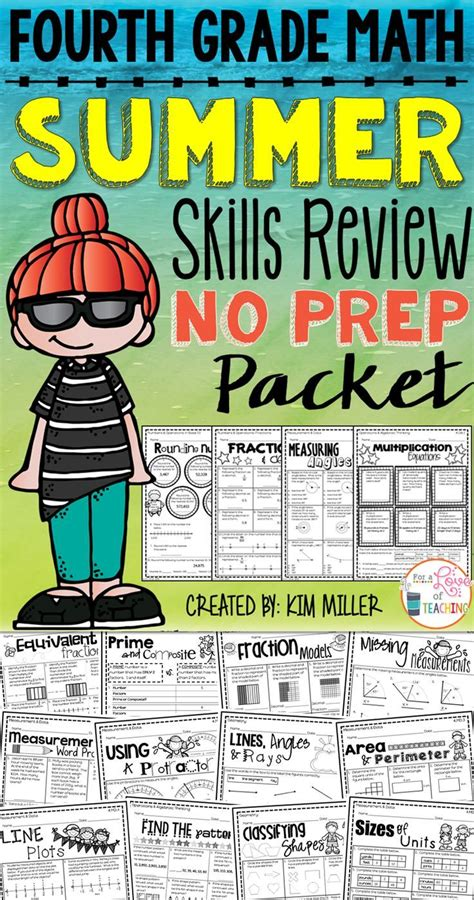 resources for summer packets middle school 7th grade summer math practice for new 8th graders 1000 ideas