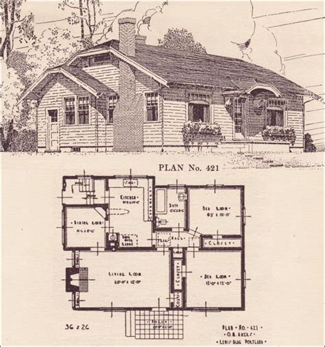 tiny house plan clipped gabled cottage aladdin kit 1924 clipped gable cottage house plans the portland