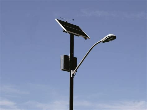 top of pole series solar lighting sol by carmanah