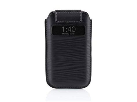 Iphone 4 4s Pull belkin verve pull caller id sleeve hoes iphone 4 4s