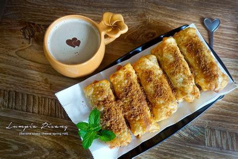 lumpia pisang bali food blogger resep  review