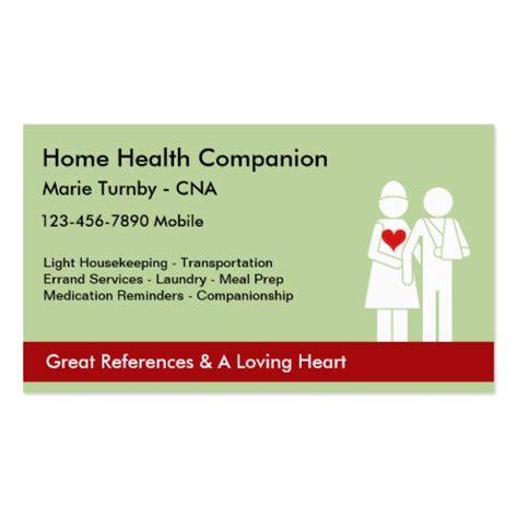 Caregiver Business Cards Templates by Senior Caregiver Business Cards Zazzle