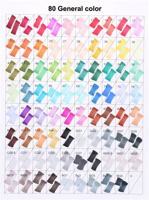 pcs copic ciao style art marker pens  drawing