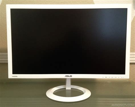 Asus Laptop Screen Goes White anthonyvn asus vx238h w white 23 inch lcd monitor review