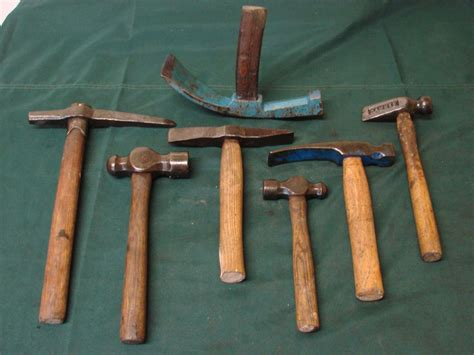 vintage geologists fossil rock hammers hardy pick mining