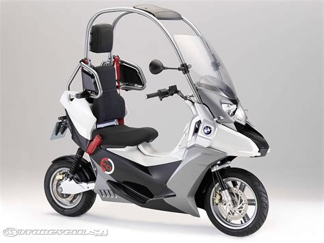 bmw c1 e electric scooter prototype photos motorcycle usa