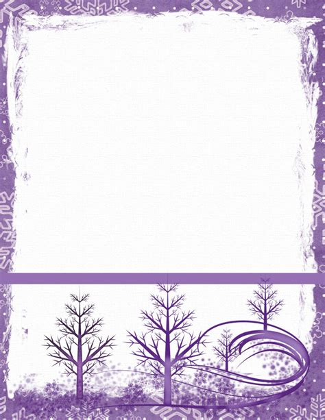 Search Results For Free Winter Themed Stationery Calendar 2015 Snowflake Stationery Template