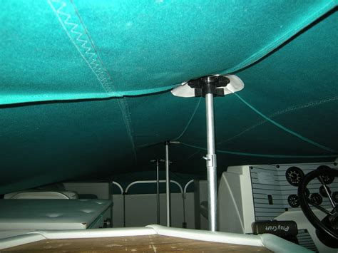 pontoon boat covers with vents custom powerboat covers by slo sail and canvas