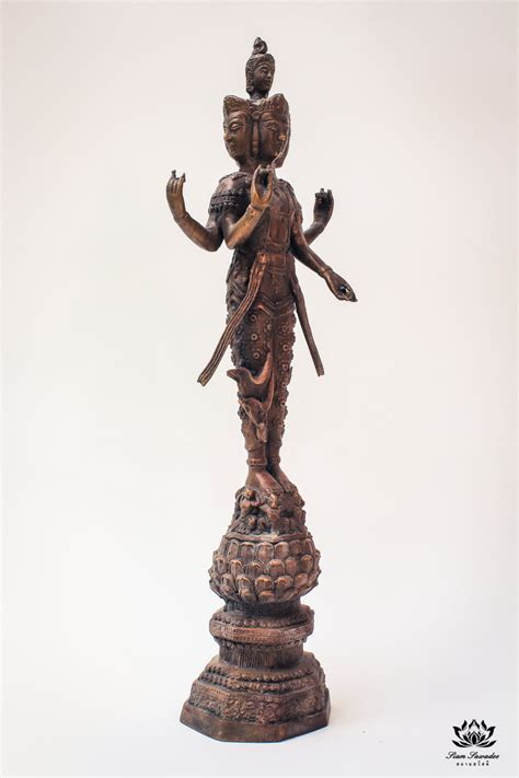 god statue hindu statue of the god of love or phra trimurti siam
