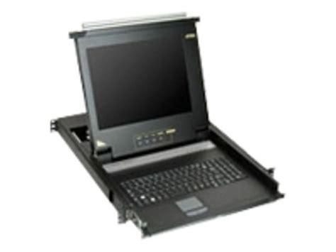 Aten 17 Inch 16 Port Lcd Kvm Cl5716m startechcom 1u 17 inch rack mount lcd console with