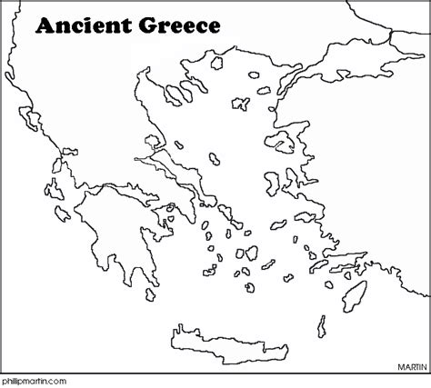 Historical Outline Map 7 Ancient Greece Answers by Mythology 6l Home