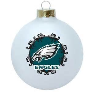 philadelphia eagles collectible christmas tree ornament