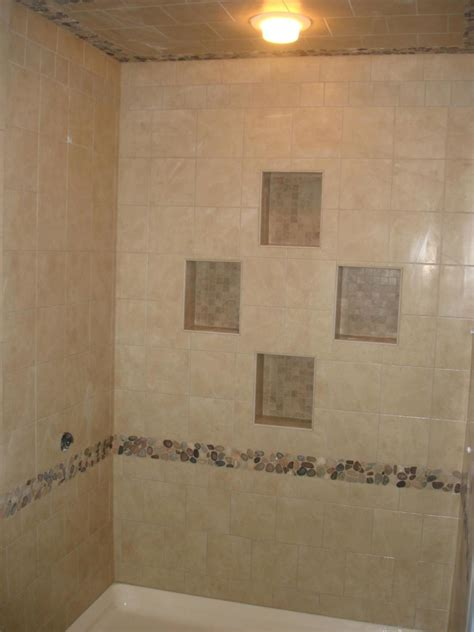 simple bathroom tile designs decoration simple and neat white granite shower tile