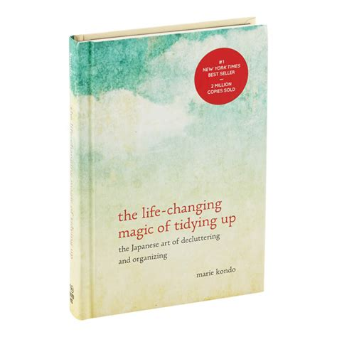 libro the life changing magic of the life changing magic of tidying up by marie kondo the container store