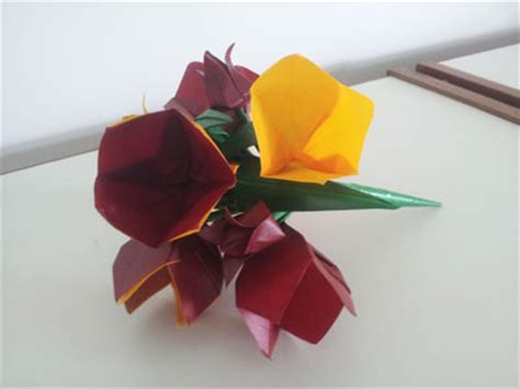 Bell Flower Origami - origami bell flower folding how to make an