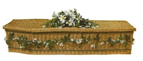 Wooden Decorations For Home How To Decorate A Willow Coffin With Flowers Natural Endings