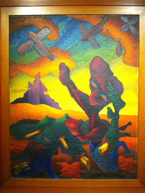 The GSIS Art Collection at The National Museum   Manila ... Hernando Ocampo The Resurrection