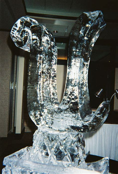 muzzy ice service ice sculptures ice carvings  weddings anniversaries  special