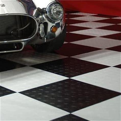 Motofloor Modular Garage Flooring by Motofloor Modular Garage Floor Tile Checker Pattern 42 Sq