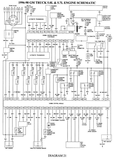 gmc truck   ton pu wd  mfi ohv cyl repair guides wiring diagrams