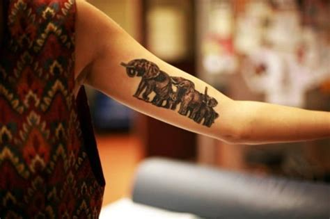 elephant tattoo inner arm 85 beautiful elephant tattoos and their meanings fmag com