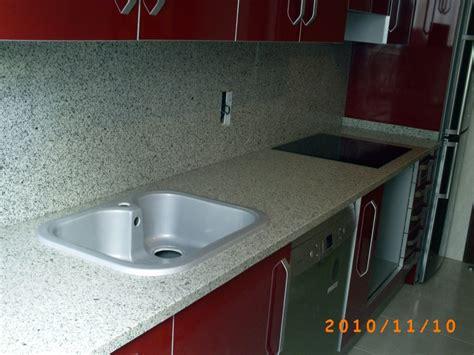 encimera granito blanco foto encimera cocina en granito blanco cristal 3 cm de